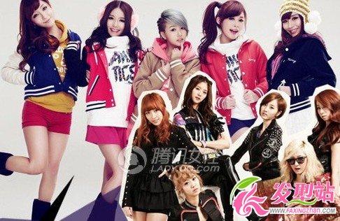 【新发型】2012中韩美少女发型人气排行