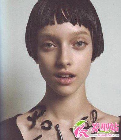 2013欧美女生流行短发发型(8)