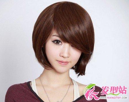 90后女生夏季流行短发发型-女生短发-发型站_最新流行