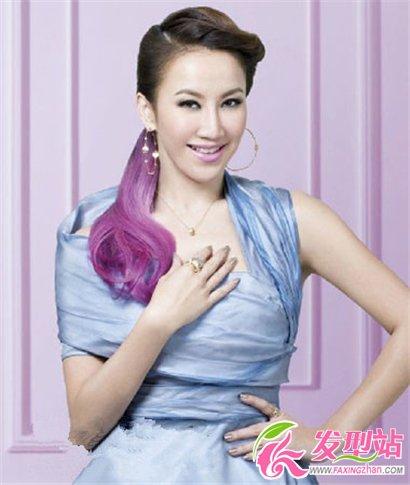 2013长发女士最流行卷发发型 5 高清图片