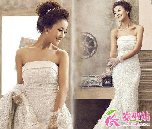 2014韩国流行新娘发型