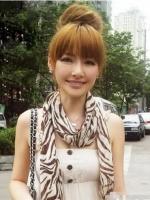 小脸女生时尚扎发发型 最新时尚韩式扎发