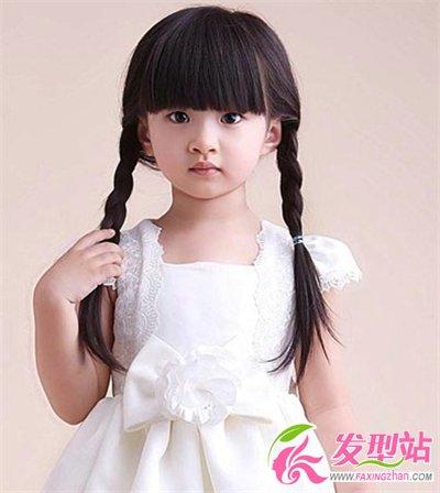 儿童扎头发大全简单的好看  小女孩扎什么发型最可爱[6p](3)_发型图片