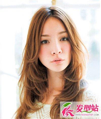 女生时尚视频瘦脸v女生短发长发圆脸一样打造吹蓬松发型头男发型背图片