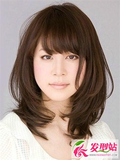 人气碎发发型 修颜瘦脸一步到位-女生发型图片-发型 ...