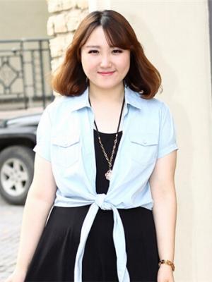 胖脸发型设计图片_决定美丑的不是胖瘦而是发型 胖脸女士最好看发型设计-发型脸型 ...