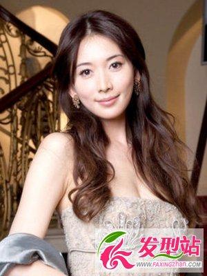林志玲最美发型图片合集图片
