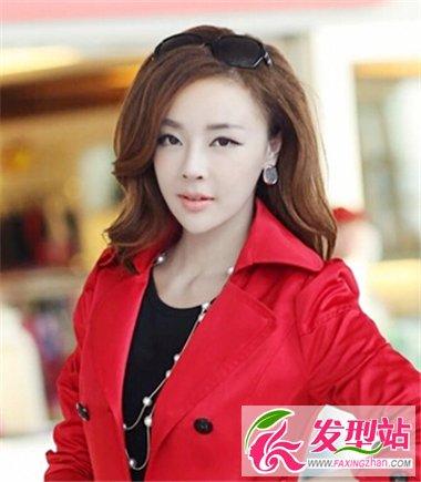 发型女三七分刘海图片展示图片