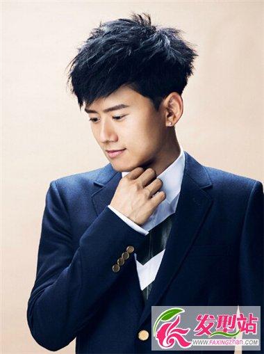 张杰时尚新娘照片_张杰时尚帅发型图片流行造型诠释张扬的帅-时尚男发-发型