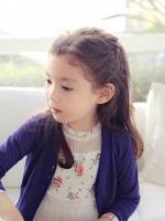 【小女孩发型】儿童中长发发型扎法