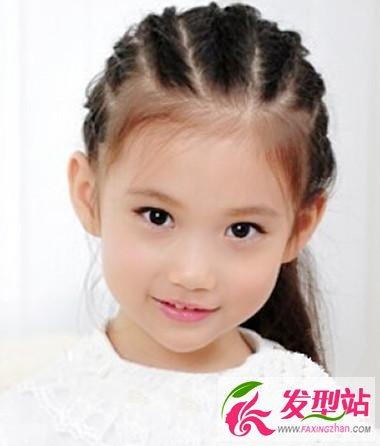 小女孩可爱发型图片 卡哇伊发型打造天使宝宝