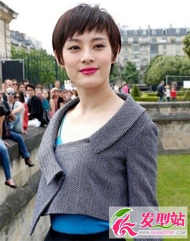 女生时尚短发造型 占领发潮新时代-短发发型-发