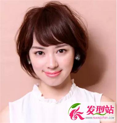 适合方脸女生的发型 修颜短发发型推荐图片