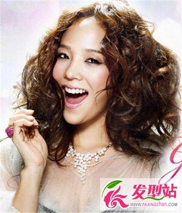 什么是冷烫 最新流行韩式冷烫发型图片