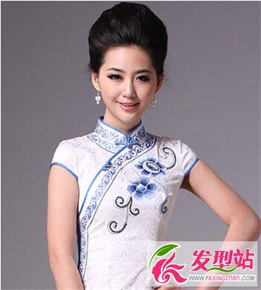 迎宾或礼仪小姐适合什么发型 古典旗袍发型最动人