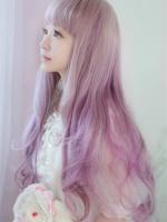 2015最新挑染渐变色染发 五彩缤纷的时尚发型-挑染发型图片 2016最图片