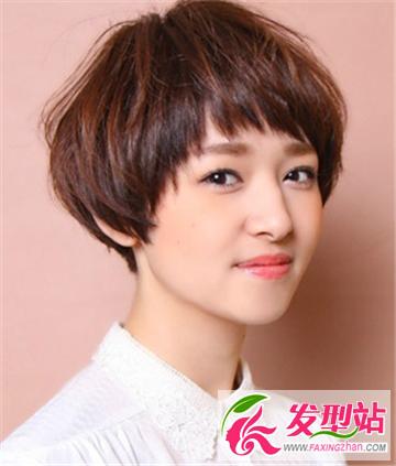 女生超短发发型 做短发可爱小女人清爽明媚娇小可爱