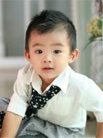 【可爱小男孩发型_小男孩发型图片大全_最流