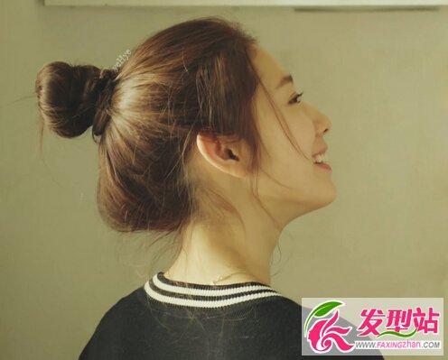 招桃花发型