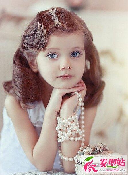 小学生 女生发型 时尚漂亮