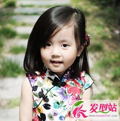 2015儿童女孩发型大全