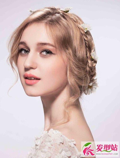 20款时尚韩式新娘发型 2017新娘发型图片大全图片