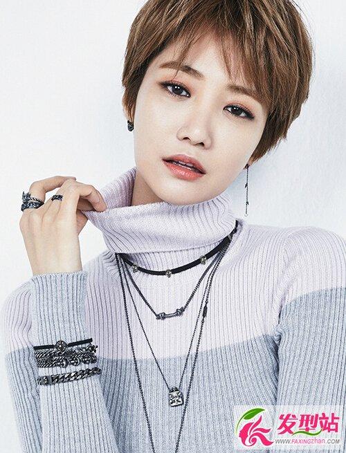 韩国短发女神高俊熙写真