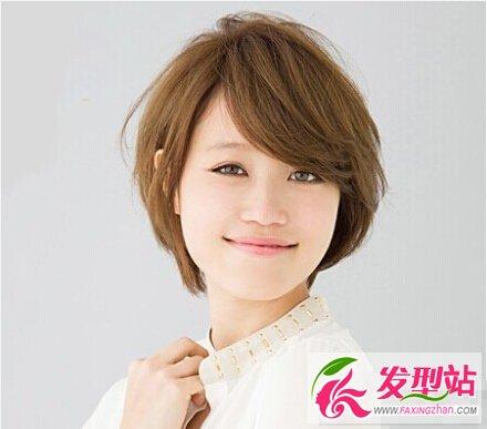 在校女生短发发型图片 根据你的脸型帮你选短发图片