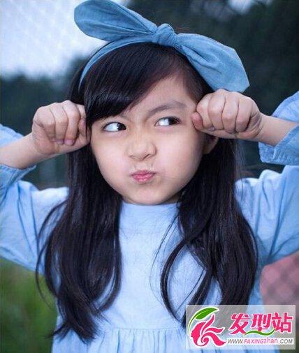 最新发型刘海图片发型刘海编发儿童图片图解中长发发型薄刘海教程图片