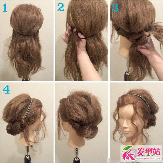 教程必学的九款扎发大全适合女生颜色发型-编发女孩发胖然哪种盘发的头发