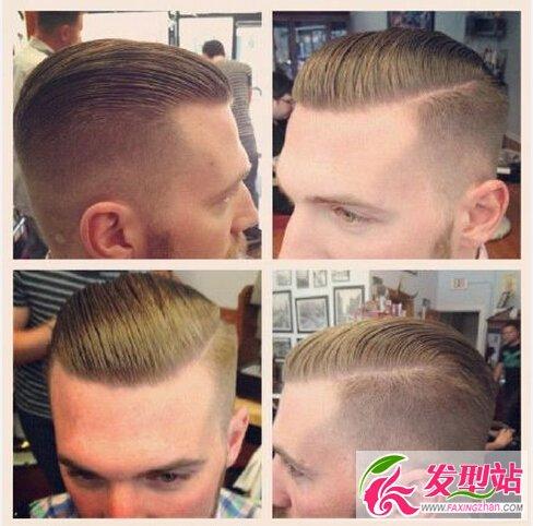 六款时尚男士发型 2016男生流行发型之莫西干