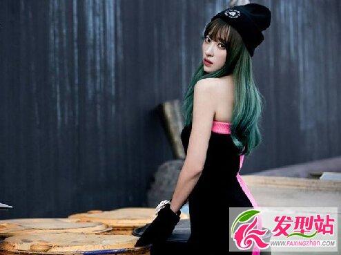 【新发型】不是只有Hani染冷艳绿发!盘点绿发也很美的韩国女星