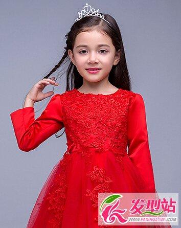 2016春节儿童发型扎法