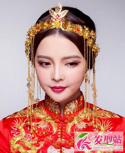 唯美经典传统中式新娘发型