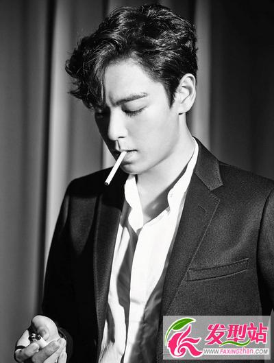 男人第八帅BIGBANG崔胜铉全球选发型无非一大脸留斜刘海图片