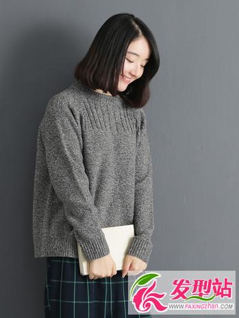 2016流行长波波头烫卷发型 韩式波波头烫发卷发图片图片