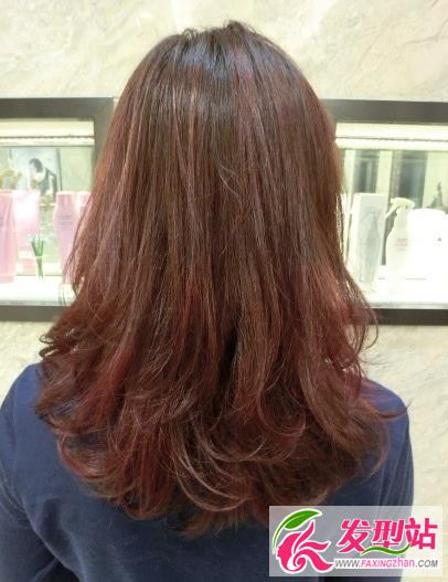2016最新梨花头烫卷发型 中长发烫卷发发型图片大全