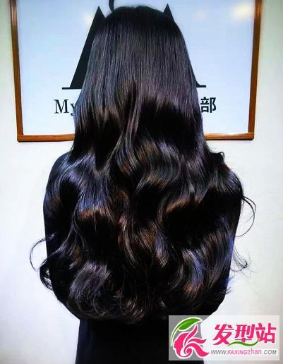刚过肩的发型_水波纹大波浪卷发大全 最美长发烫卷发型图片大全-烫发发型 ...
