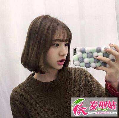 2017流行短发发型