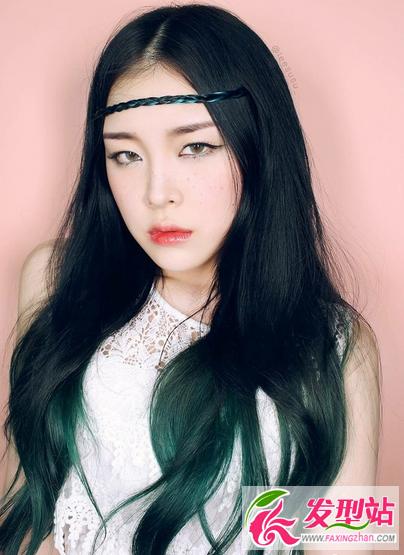 非主流原宿染发发型 今年最流行彩色染发发型图片图片