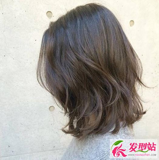 韩式lob头发型卷发_中短发烫发发型图片