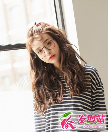 女生气质烫发卷发发型设计 最新韩式女生卷发发型大全图片