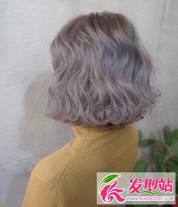 女生短发染发图片大全 最新韩式短发流行发色图片