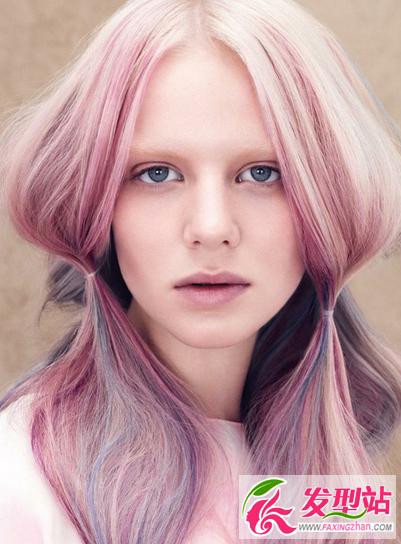 薄藤,染发,假发,流行发色