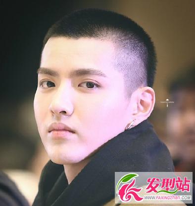 帅哥时尚发型大全 吴亦凡李易峰发型设计图片