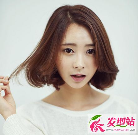 韩范短发图片2016女-时尚波波头短发发型 韩范流行女生短发图片