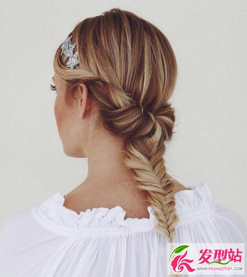 欧式新娘编发盘发 2016最新婚礼新娘发型图片