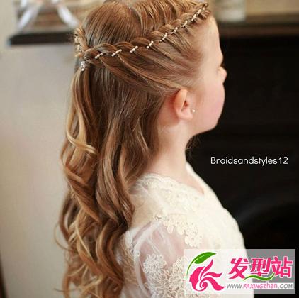 小女生头发怎么绑?六一儿童节女孩子编发图片
