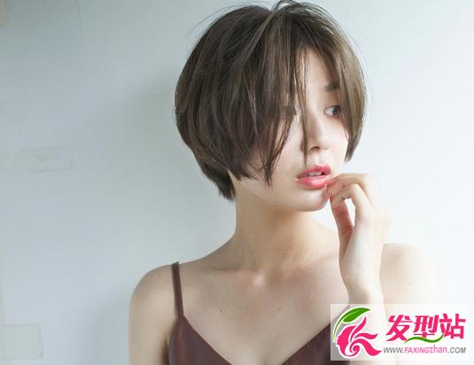 氧气女神波波头 气质女生短发正流行图片