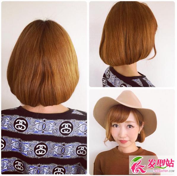 女生短发  长发变短发 | 时尚扎发教程图解 长发一秒钟变短发,不用剪图片